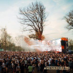 Pollerwiesen Musikdurstig Stage