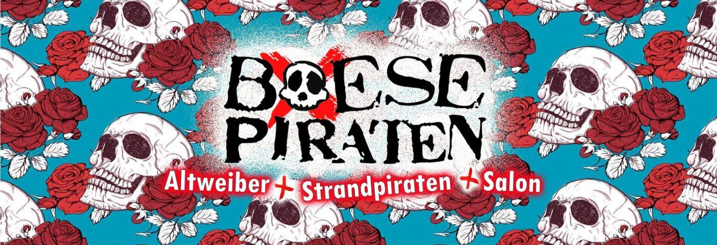 Boese Piraten - Altweiber mit den Strandpiraten